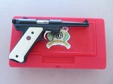 2002 Ruger NRA Endowment Mark II .22 Pistol w/ Box, Paperwork, Etc.