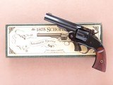 Navy Arms Co. 1875 Schofield, Wells Fargo Model, Cal. .44-40, 5 Inch Barrel, with Box