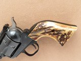 Ruger Blackhawk Old Model, Fitted with Attractive Stag Grips, Cal. .357 Magnum, 3-Screw frame, 1971 Vintage - 5 of 8