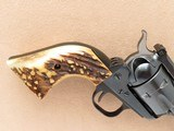 Ruger Blackhawk Old Model, Fitted with Attractive Stag Grips, Cal. .357 Magnum, 3-Screw frame, 1971 Vintage - 4 of 8