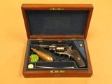 J.A. Scotcher Revolver, 9mm (.36 Caliber) Percussion, Presentation Cased