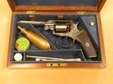 J.A. Scotcher Revolver, 9mm (.36 Caliber) Percussion, Presentation Cased - 2 of 13