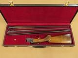 1970's Vintage Ithaca SKB Model 600 O/U Skeet Grade 3 Gauge Set w/ Leather Luggage Case** Classy 20, 28, & .410 Gauge Set **