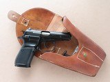 1989 Vintage CZ Model Vz. 82 9mm Mak Pistol Rig w/ Holster, Extra Mag, Cleaning Rod, & Lanyard** Minty Clean Example ** SOLD