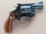 "Smith & Wesson Model of 1953 .22/.32 Kit Gun Mod. 34-1 .22 L.R. Blue 2"" Barrel **MFG. 1982**"