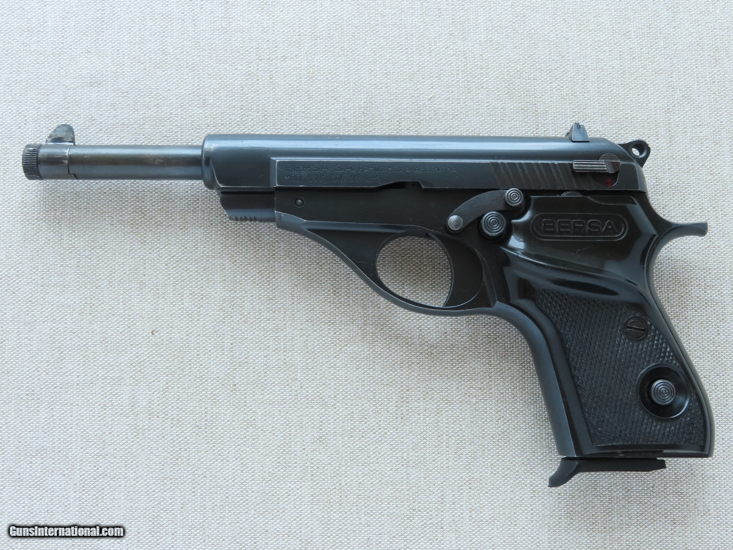 1979-'82 Vintage Bersa Model 622 Pistol in  22LR w/ Factory
