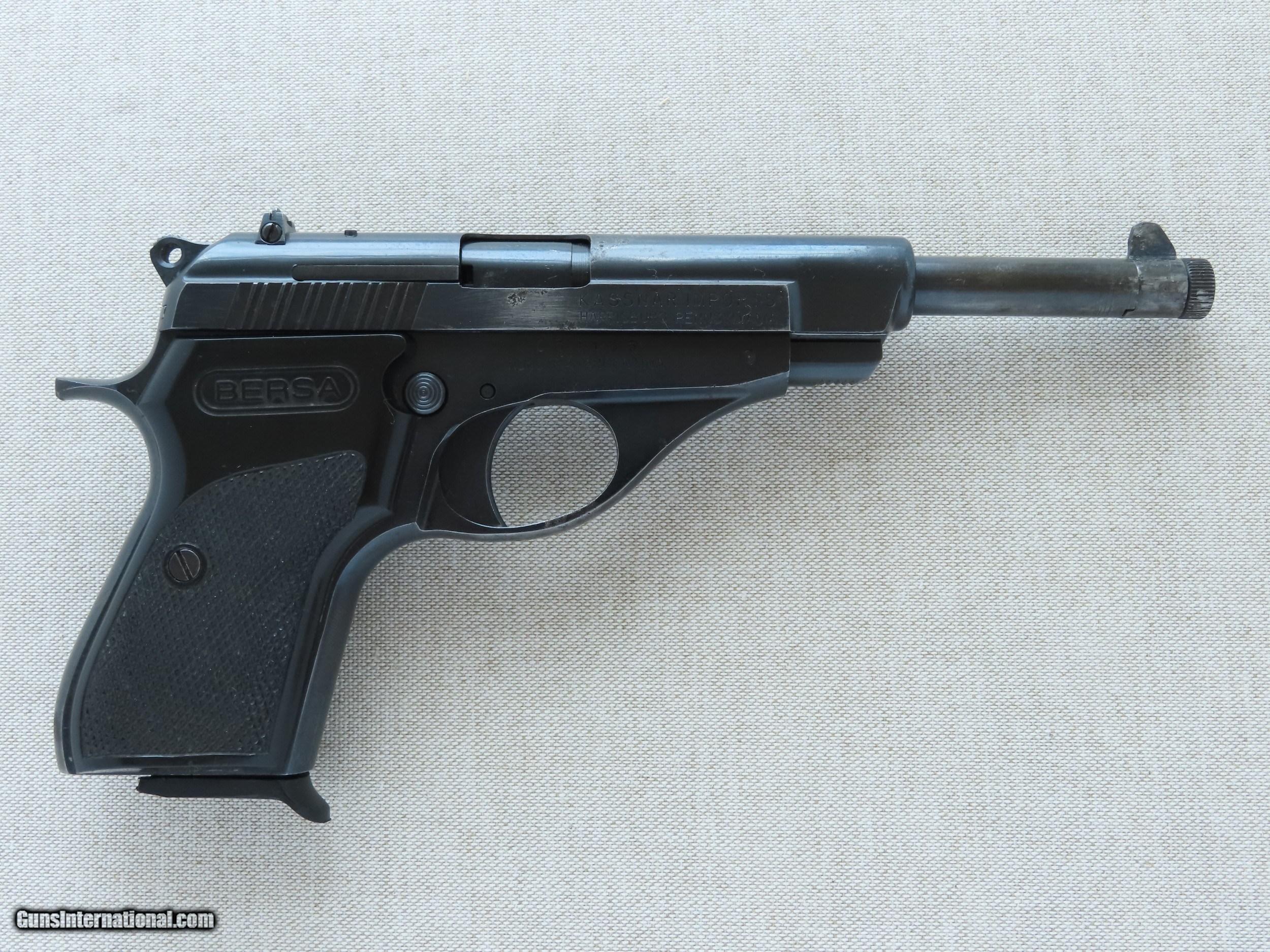 1979-'82 Vintage Bersa Model 622 Pistol in  22LR w/ Factory