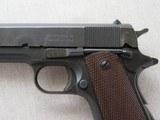 WW2 Remington Rand 1911A1 .45 A.C.P. MFG. 1943 **W/ Belt & Holster Rig** - 19 of 24