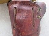 WW2 Remington Rand 1911A1 .45 A.C.P. MFG. 1943 **W/ Belt & Holster Rig** - 5 of 24