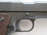 WW2 Remington Rand 1911A1 .45 A.C.P. MFG. 1943 **W/ Belt & Holster Rig** - 6 of 24