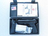2014 Ruger Model SR45 Blackened Alloy .45 ACP Pistol w/ Original Box, Manual, Etc.** Minty Example of Discontinued Model ** - 25 of 25