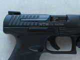 """2014 Walther PPQ M2 5"""" Inch in .40 S&W Caliber w/ CT Railmaster Red Laser & TruGlo TFX Pro Sights w/ Box, Manuals, Test Target** Like New! * - 9 of 25"""