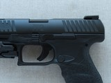 """2014 Walther PPQ M2 5"""" Inch in .40 S&W Caliber w/ CT Railmaster Red Laser & TruGlo TFX Pro Sights w/ Box, Manuals, Test Target** Like New! * - 5 of 25"""