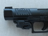 """2014 Walther PPQ M2 5"""" Inch in .40 S&W Caliber w/ CT Railmaster Red Laser & TruGlo TFX Pro Sights w/ Box, Manuals, Test Target** Like New! * - 6 of 25"""