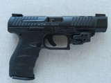 """2014 Walther PPQ M2 5"""" Inch in .40 S&W Caliber w/ CT Railmaster Red Laser & TruGlo TFX Pro Sights w/ Box, Manuals, Test Target** Like New! * - 7 of 25"""