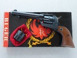 1969 3-Screw Ruger Single Six .22 Caliber Revolver w/ .22 Mag Cylinder & Original Box, Manual, Etc.