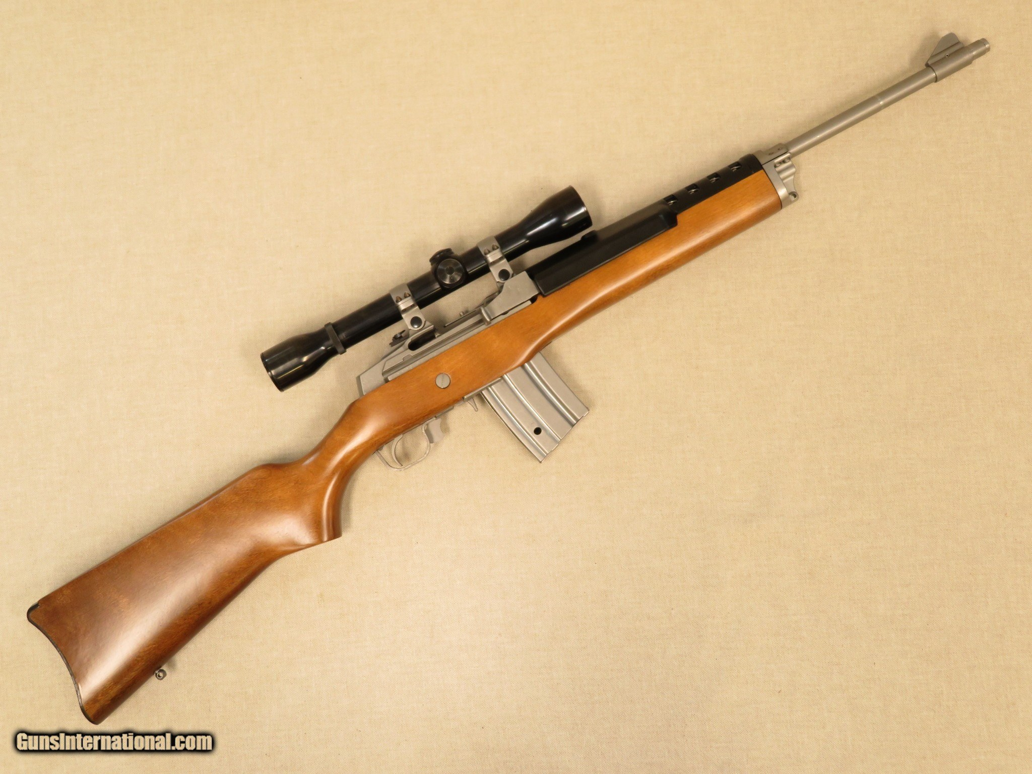 Ruger Mini-14 Ranch Rifle, with Weaver 4x Scope, Cal   223
