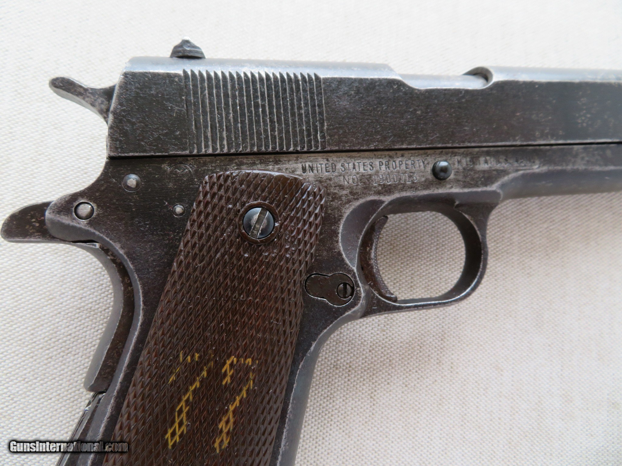 WW2 Remington Rand 1911A1  45 A C P  **MFG  1944** SOLD for sale