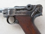 WWI Vintage 1916 Dated DWM P08 Luger 9MM ** All-Matching and Original Except for Mag ** SOLD - 7 of 21