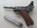 WWI Vintage 1916 Dated DWM P08 Luger 9MM ** All-Matching and Original Except for Mag ** SOLD - 19 of 21