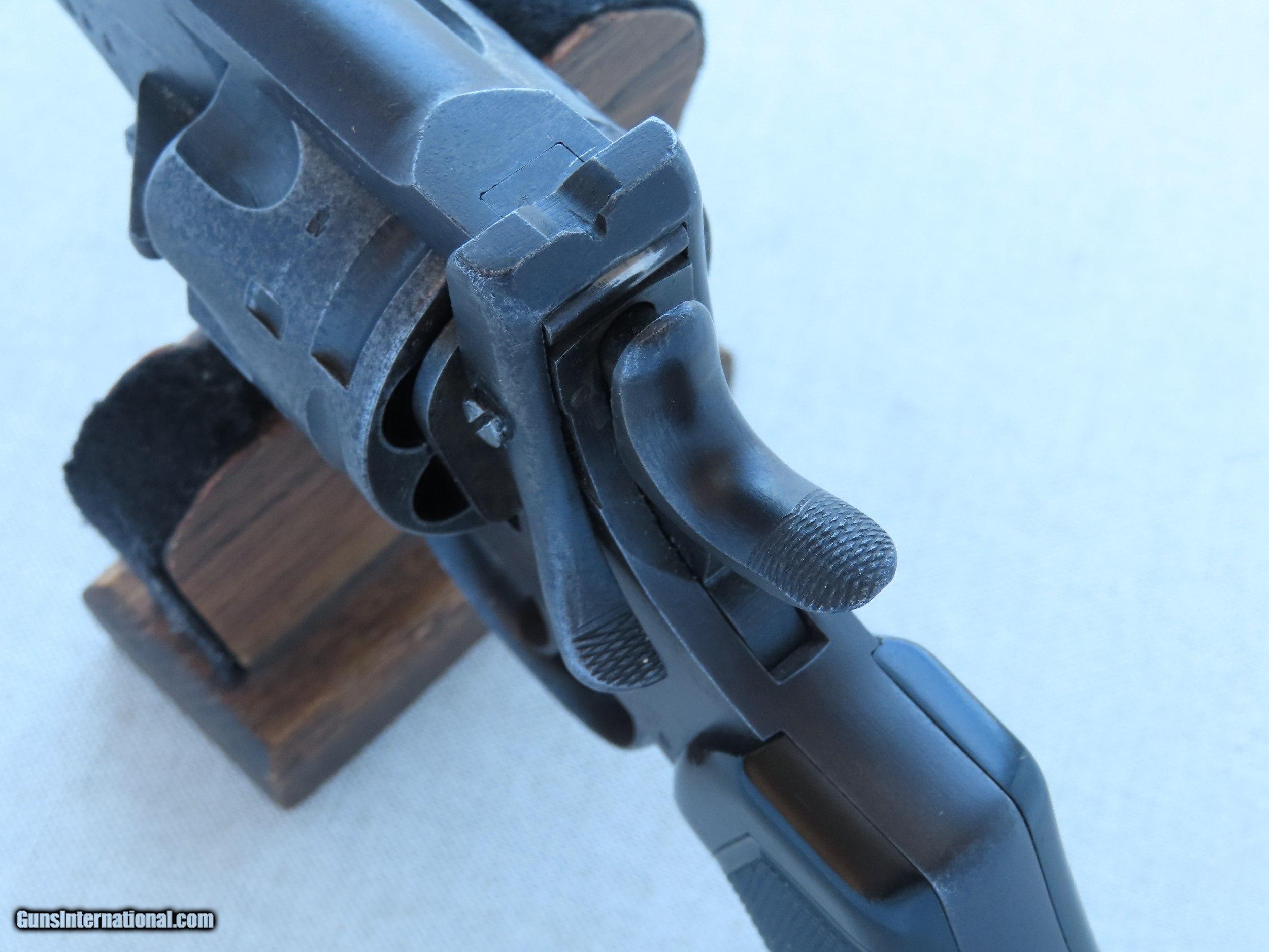 Circa 1919 British Military Webley Mark VI Service Revolver