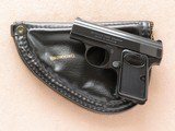 Browning Baby with Browning Pistol Pouch, Cal. .25 ACP, 1968 Vintage