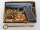 WW2 1944 Colt 1911A1 U.S. Army .45 A.C.P. **100% Original As New Condition in Craft Box** SALE PENDING