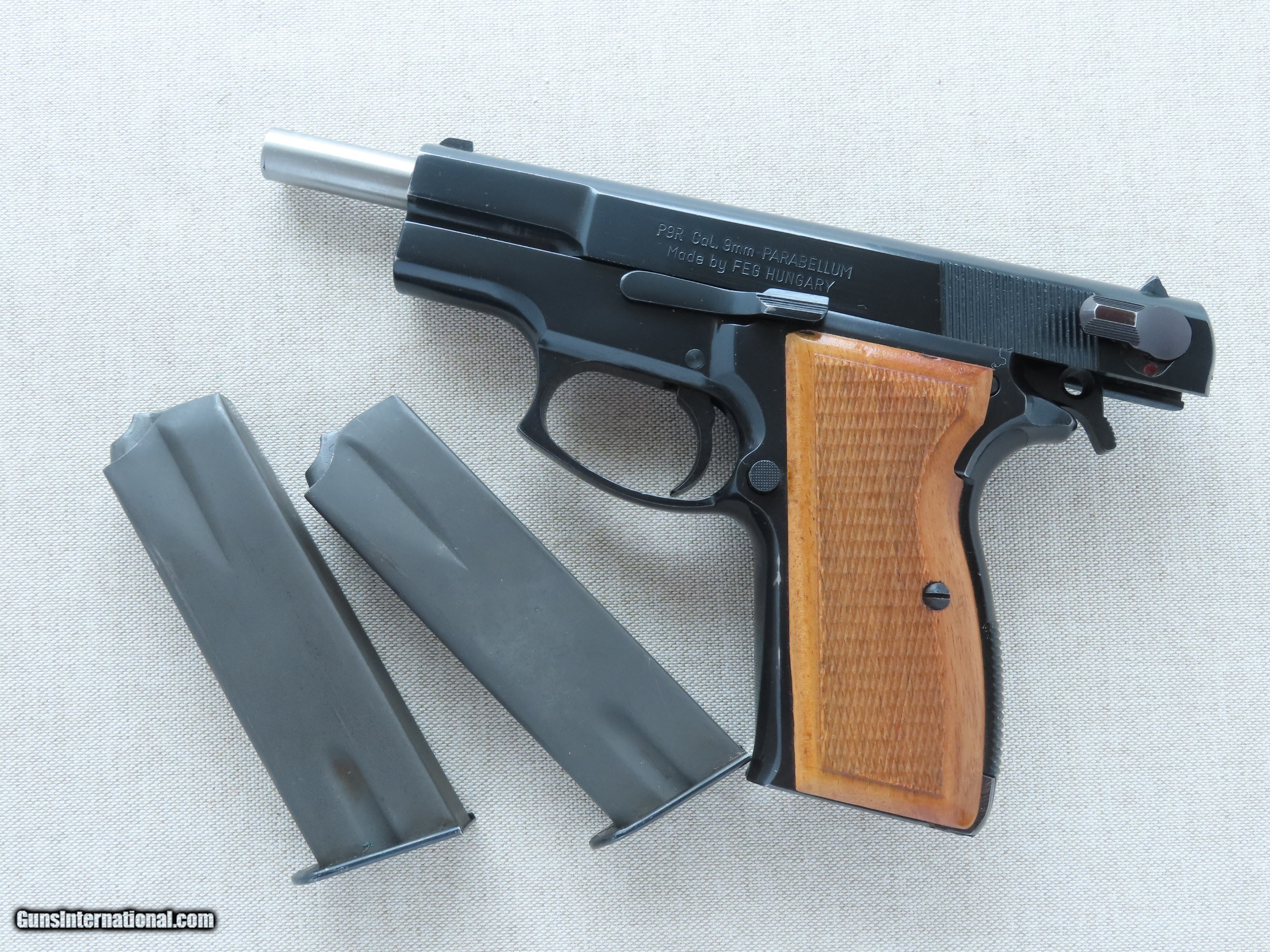 Vintage FEG Model P9R 9mm Pistol w/ 2 Factory Magazines