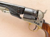 Replica Arms Inc. 1860 Army Colt Replica, Engraved, Cal. .44 Percussion - 5 of 13