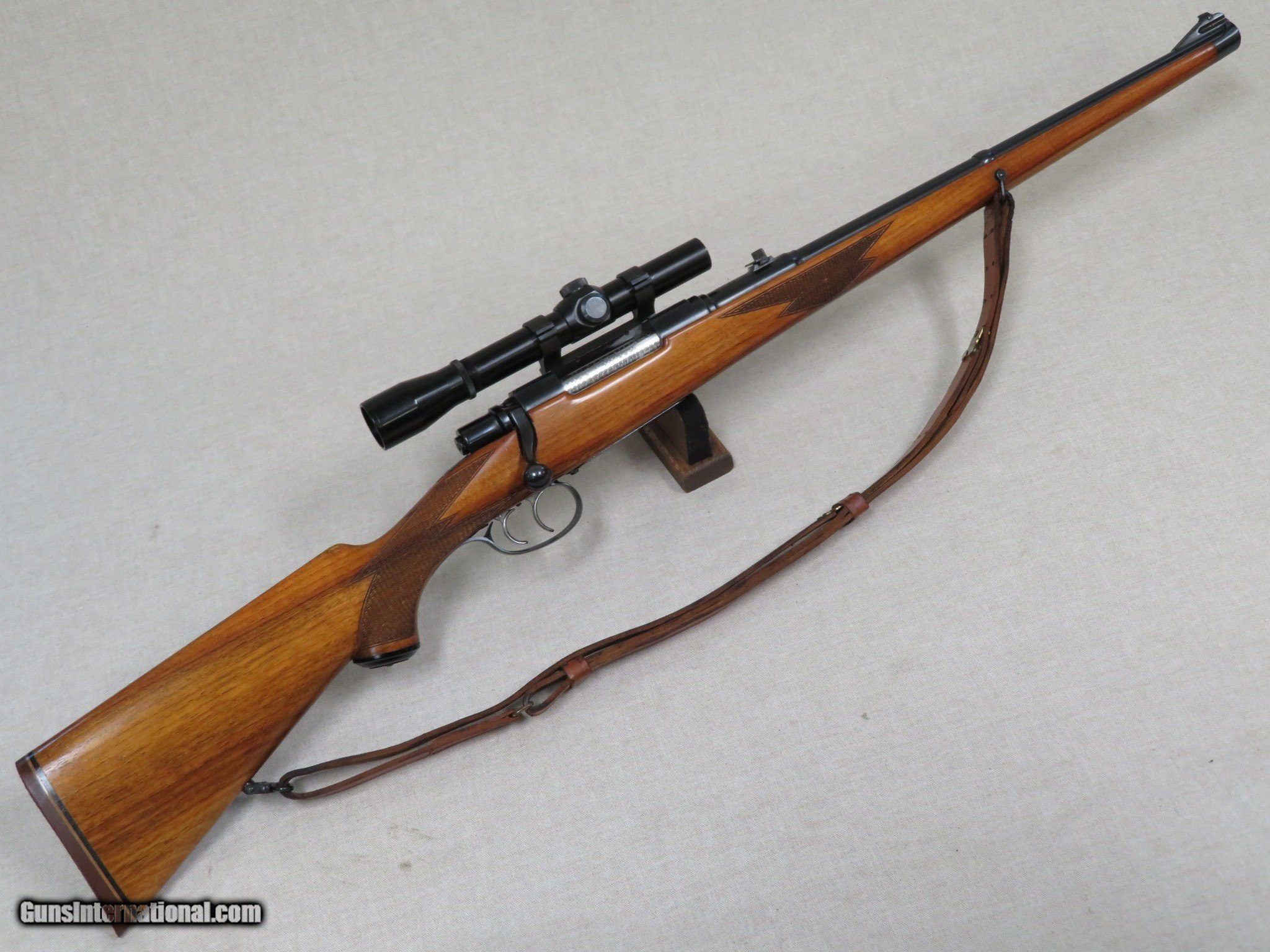 BRNO Model 22H 7X57 Mauser Double Square Bridge Full Stock