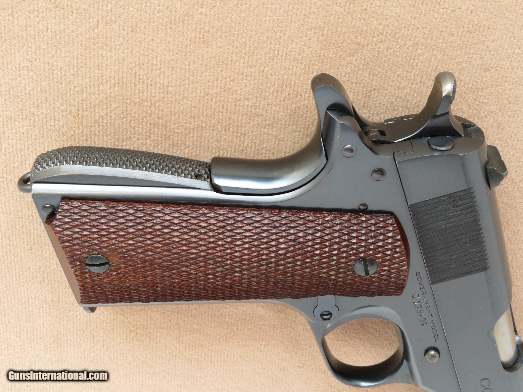 Colt Government Model 1911A1 Pre-WWII Commercial, Cal   45