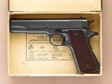 Colt Government Model 1911A1 Pre-WWII Commercial, Cal. .45 ACP, 1935 Vintage, C Prefix Serial Number SOLD