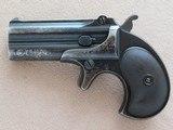 Remington Double Derringer .41 Rimfire **Type III Model No. 4**