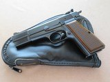 Browning Hi-Power, Belgian Manufactured, Cal. 9mm, 1982 Vintage