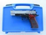 2007 Sig Sauer P220 Super Match SAO Two-Tone .45 ACP Pistol w/ Original Box, Extra Mags** Top-Of-The-Line Sig Sauer P220 Target Model **