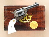 Colt Storekeepers Model Single Action with Ivory Grips, Cal. .45 LC