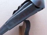 WW1 German Werk Genossenschaft Berlin P-08 Luger Holster Dated 1916** 100% Original and Very Good Condition/ Rare Maker! ** SOLD - 9 of 12