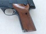 1967 Vintage High Standard Model 106 Military Supermatic Citation .22 LR Semi-Auto Pistol** Pristine & Beautiful High Standard ** - 2 of 25