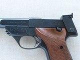 1967 Vintage High Standard Model 106 Military Supermatic Citation .22 LR Semi-Auto Pistol** Pristine & Beautiful High Standard ** - 3 of 25