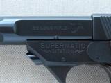 1967 Vintage High Standard Model 106 Military Supermatic Citation .22 LR Semi-Auto Pistol** Pristine & Beautiful High Standard ** - 10 of 25