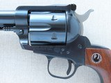 "1970 Vintage 3-Screw Ruger Old Model Blackhawk 6.5"" in .41 Magnum w/ Original Box, Manual, Etc.