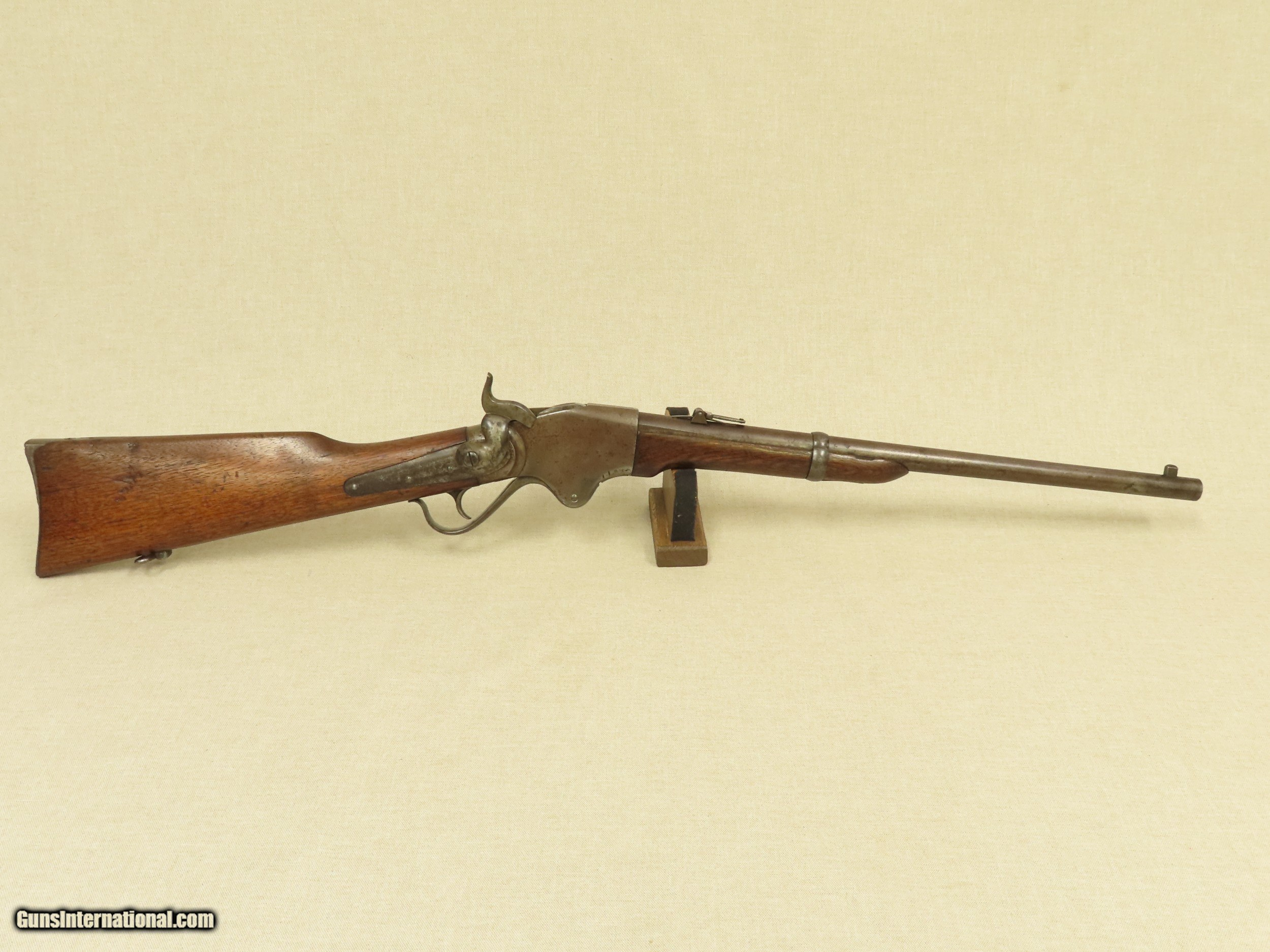 American Indian Wars Burnside Rifle Co  Spencer Model 1865