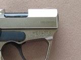 Magnum Research Micro Desert Eagle .380 ACP Pistol in Nickel Teflon Finish w/ Box, Manual, Etc.** Minty Un-fired Pistol! ** SOLD - 9 of 15