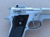 Vintage Smith & Wesson Model 659 Stainless Steel 9mm Pistol** Custom Tuned Trigger ** SOLD - 7 of 25