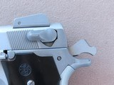 Vintage Smith & Wesson Model 659 Stainless Steel 9mm Pistol** Custom Tuned Trigger ** SOLD - 22 of 25