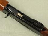 "1973 Vintage Remington Model 1100 12 Ga. Auto Shotgun w/ 26"" Improved Cylinder Vent Rib Barrel Choked** Clean Lightly-Used Model 1100 ** SOLD - 22 of 25"