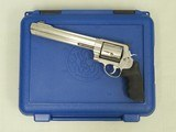 "2004 Vintage Smith & Wesson Model 500 Revolver w/ 8 & 3/8ths"" Barrel & Original Box, Manual, Etc.