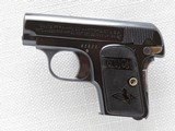 Colt 1908 Vest Pocket Model Hammerless, Cal. .25 ACP, 1911 Vintage, High Polish Blue SOLD - 3 of 8