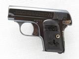 Colt 1908 Vest Pocket Model Hammerless, Cal. .25 ACP, 1911 Vintage, High Polish Blue SOLD