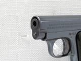Colt 1908 Vest Pocket Model Hammerless, Cal. .25 ACP, 1911 Vintage, High Polish Blue SOLD - 7 of 8